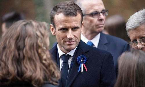 Macron hails French Muslim 'charter' against extremism