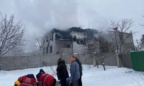 یوکرین: نرسنگ ہوم میں آتشزدگی سے 15 افراد ہلاک
