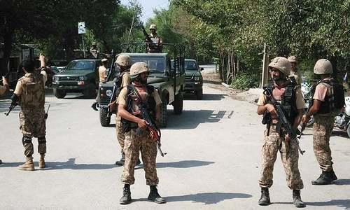 سبی میں بارودی سرنگ کا دھماکا، 4 فوجی شہید