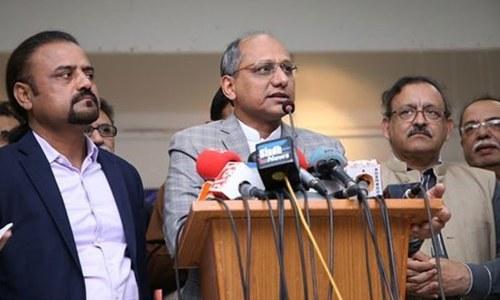 نصاب 60 فیصد مکمل کرنے  کے لیے امتحانات مؤخر کیے جاسکتے ہیں، سعید غنی