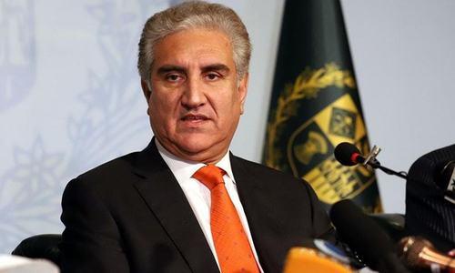 وزیرخارجہ کا جوبائیڈن انتظامیہ پر افغان امن عمل 'تبدیل' نہ کرنے پر زور