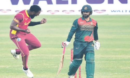 Bangladesh rout WI to seal ODI series