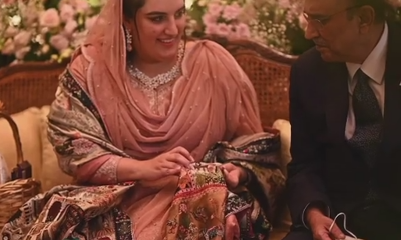Weeklong festivities for Bakhtawar Bhutto-Zardari's wedding start tomorrow