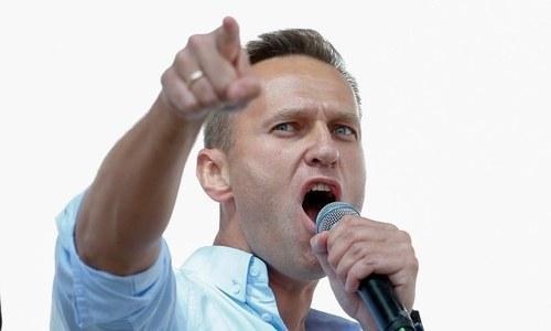 روس: اپوزیشن لیڈر کی رہائی کیلئے ہزاروں افراد کی ریلی، 15 سو گرفتار