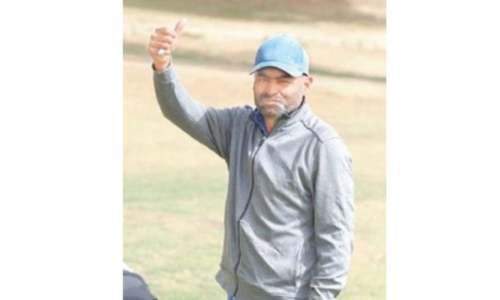 Shabbir opens up four-shot lead atop Sindh Open leaderboard
