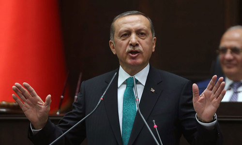Erdogan launches welding of 3rd Milgem warship being constructed for Pakistan Navy