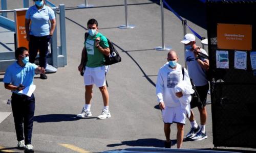 Nine active cases of Covid-19 in Australian Open quarantine: officials