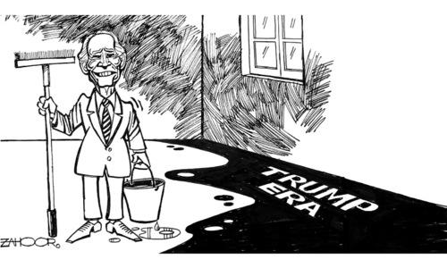 Cartoon: 25 January, 2021