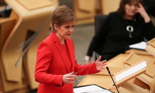 Scotland's leader vows to push for independence vote