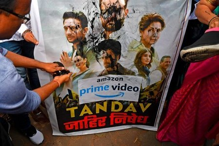 India's Karni Sena announces Rs1 crore award for whoever 'cuts tongue' of makers of Amazon's Tandav