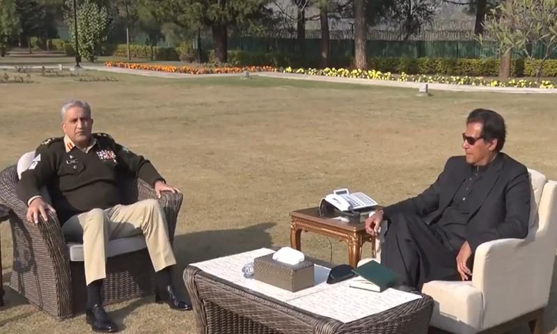 وزیر اعظم سے آرمی چیف کی ملاقات، قومی سلامتی سے متعلق تبادلہ خیال