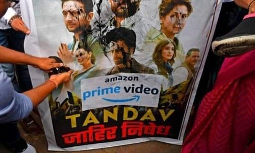کرنی سینا کا تانڈو کے فلم سازوں کی 'زبان کاٹنے والے' کیلئے ایک کروڑ روپے انعام کا اعلان