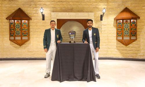 پہلا ٹیسٹ: جنوبی افریقہ کا پاکستان کے خلاف ٹاس جیت کر بیٹنگ کا فیصلہ