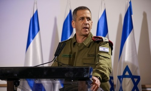 Israel's top general hints at 'operational plans' against Iran