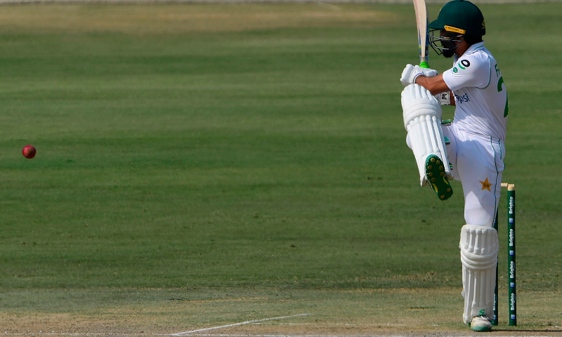 Pakistan 308-8 on day two of first Test as Fawad century gives hosts upper hand