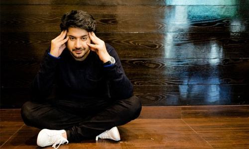 When he doesn't find roles worthy of his talent, Imran Ashraf simply writes them himself