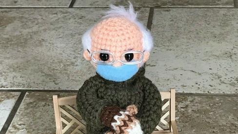 Bernie Sanders' mittens, memes help raise $1.8 million for charity