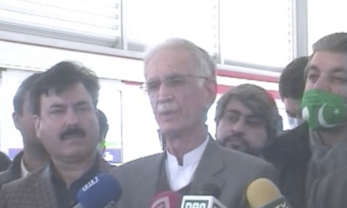 'Jahangir nowhere to be seen': Khattak says PTI's numbers are full, denies reports of Tareen's comeback