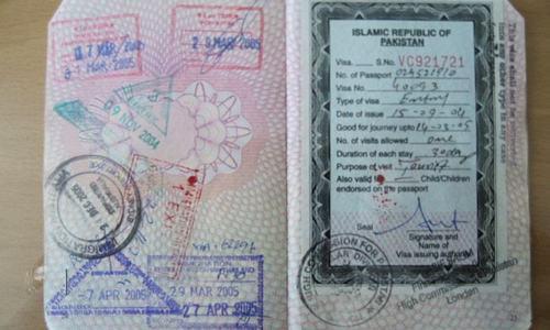 Pakistan to stop manual visas from next month