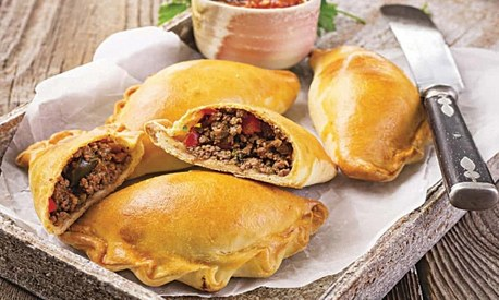 These mouth-watering empanadas make a good breakfast, lunch or dinner