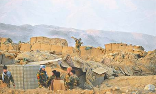 Eight Afghan security personnel killed in Taliban attack