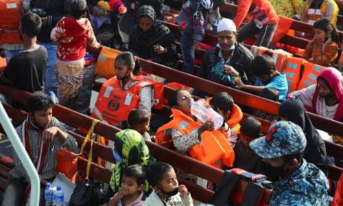 BD sends more Rohingya refugees to remote island despite criticism