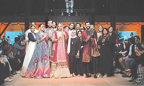 Review: The big, fat desi wedding that was Zainab Chottani's solo show 'Bagh-i-Ishq'