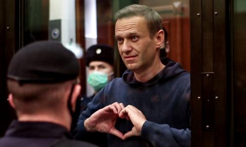 Kremlin critic Alexei Navalny jailed, declares Putin 'the Underwear Poisoner'