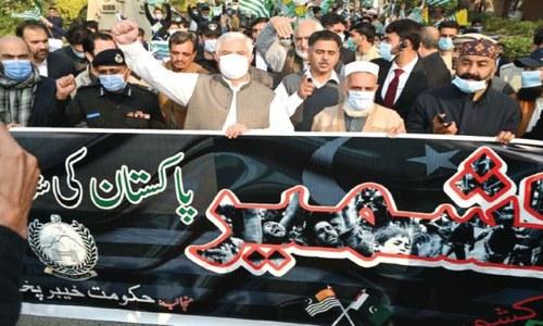 Rallies condemn Indian atrocities in occupied Kashmir