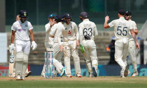 Root's England thrash India by 227 runs in first Test in Chennai