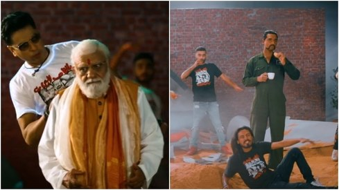Modi, Abhinandan make surprise appearances in Shehzad Roy's new song