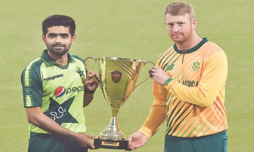 Pakistan seek to replicate Test show in T20 battle against Proteas