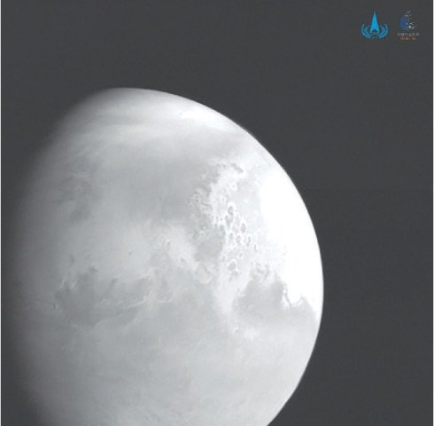 China's Tianwen-1probe enters Mars orbit
