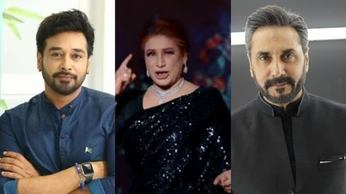 Adnan Siddiqui, Faysal Quraishi come to Naseebo Lal's defence after PSL anthem hate