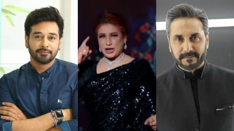 Adnan Siddiqui, Faysal Quraishi come to Naseebo Lal's defence after PSL anthem criticism