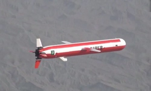 Pakistan Army conducts successful test launch of surface-to-surface Babur cruise missile