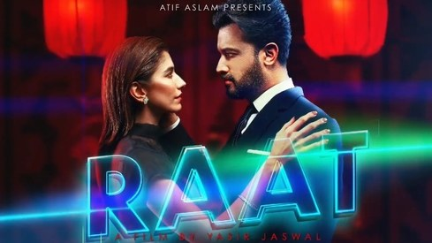 Syra Yousuf to feature in music video for Atif Aslam's 'Raat'