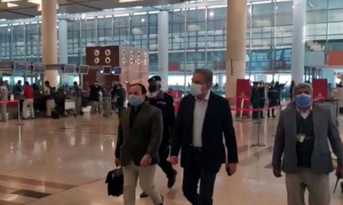 FM Qureshi leaves for 2-day visit to Egypt