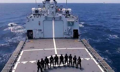 Pakistan Navy's Aman 2021 exercise concludes with 'graceful' international fleet review