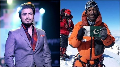 Ali Zafar releases tribute to missing mountaineer Ali Sadpara