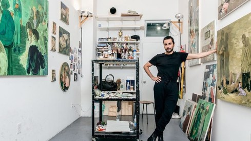 Pakistani artist Salman Toor featured on Time100 Next list