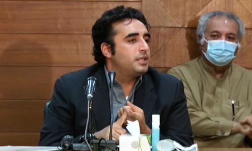 Bilawal warns against giving Senate seats to PTI through 'back door'