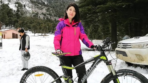 Biker Samar Khan highlights how poorly athletes are treated on Pakistani TV shows