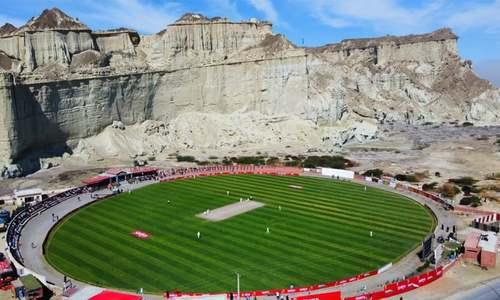 'امید ہے شاید ایک دن انگلینڈ کرکٹ ٹیم یہاں کھیلے'