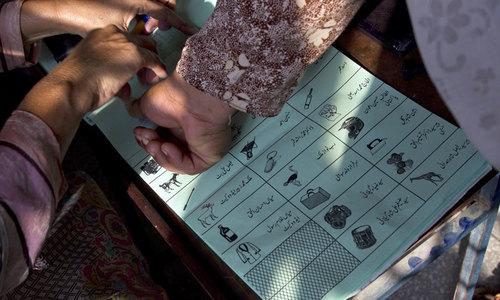 By-polls held peacefully in NA-45, PK-63 in KP
