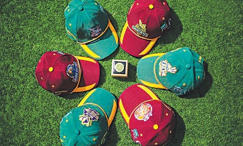 CRICKET: THE SIX IS IN