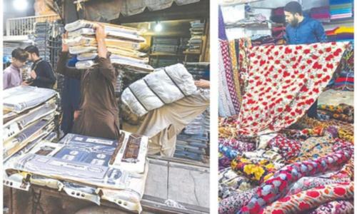 Karachi's kapra market thrives on fabric, suits from Faisalabad