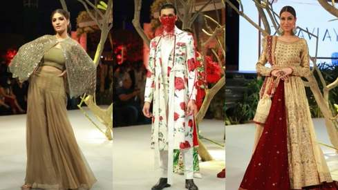 Fashion Pakistan Week SS21 Day Two: Maheen Khan and Delphi shine!