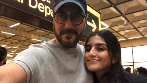 Dad Adnan Siddiqui shares words of wisdom on daughter's 16th birthday