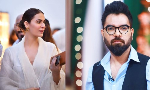 یاسر حسین نے شادی میں شرکت کی دعوت دی تھی، نوشین شاہ